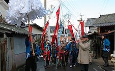 上原鳥追い祭り(1月3日)
