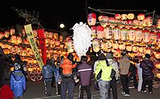 春日本郷地区道祖神祭り(1月3日)