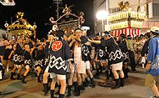 岩村田祇園祭(7月中旬)