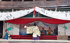 根神社の式三番叟(4月29日)