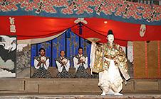 湯原神社式三番(9月最終日曜日)