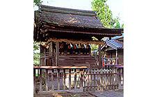 八幡神社と高良社
